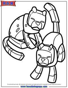 minecraft ocelot to coloring pages - photo#25