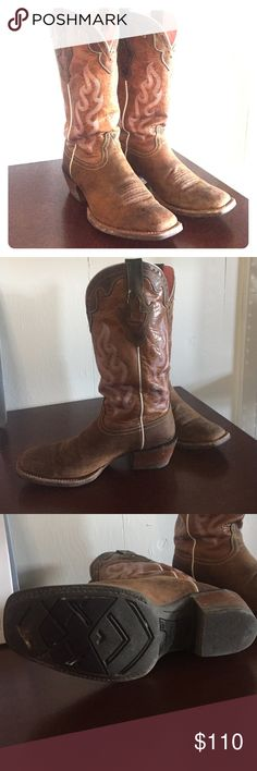 Ariat Crossfire Caliente boots Ariat boots. Still not fully broke in. Used  handful of times. Perfect western boots. Ariat Shoes Heeled Boots