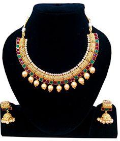 Shoppingover Bollywood Kundan Polki Gold #Jewellery #Neckla... https://www.amazon.com/dp/B01I78RIAQ/ref=cm_sw_r_pi_dp_gOuGxb2H7MAAC