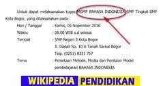 """Contoh Surat Tugas MGMP Bahasa Indonesia  Wikipedia Pendidikan - Selamat Pagi Sobat.!! Pada Post yang sebelumya admin pernah membagikan salah satu File yang berkaitan dengan yang akan dibahas pada kesempatan kali ini yakni """"Contoh Surat Tugas Home Visit"""" yang bisa berguna untuk Guru BK atau Konselor dalam melaksanakan Kegiatan Home Visit Kepada Siswa di Sekolah.  Untuk kali ini diperuntukan untuk Guru Mata Pelajaran Bahasa Indonesia terutama dalam melaksanakan kegiatan MGMP atau Musyawarah…"""