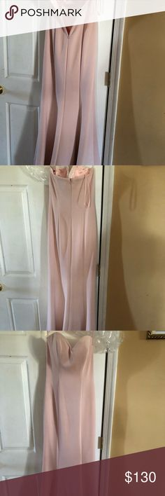 Dress Size 2. Never worn. Blush/pink ABBY PARIS Dresses Prom