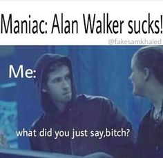 Correct word used. Alan Walker, Walker Art, Dj Music, Music Stuff, Walker Join, Smile With Your Eyes, Mike Shinoda, Everything Funny, Funny Stories