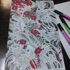 Finish color #koi #japanesekoi #blossom #cherryblossom
