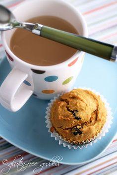 Gluten-free carrot muffins. Muffins a bunny would love.From Glutenfreegoddess.com
