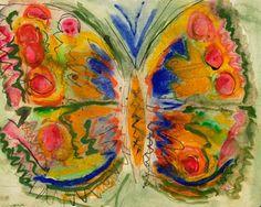 Butterfly by Norman Adams Ra