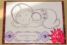 Photo: Kartka na chrzest dla dziewczynki