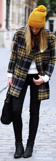 #Tartan #Coat by Dear Diary