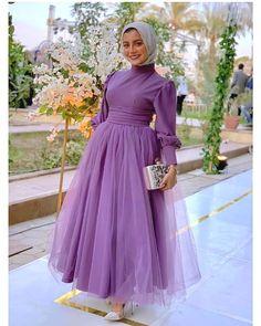 Muslim Evening Dresses, Hijab Evening Dress, Hijab Dress Party, Hijab Gown, Modest Fashion Hijab, Muslim Fashion, Fashion Dresses, Stylish Dresses, Elegant Dresses
