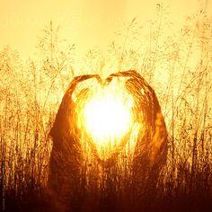 Sunset Heart by Lumina