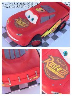 3D Lightning McQueen Cars Cake Tutorial   HowToCookThat : Cakes, Dessert & ChocolateHowToCookThat : Cakes, Dessert & Chocolate