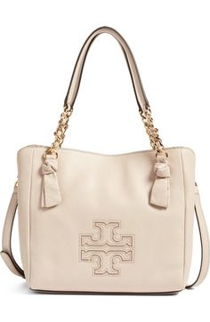 Tory Burch Small Harper Leather Satchel available at #Nordstrom