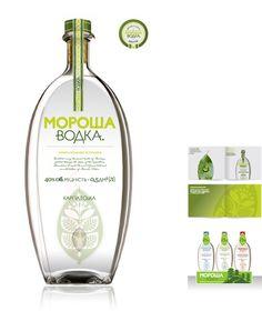 Morosha vodka great design for all our #vodka loving #packaging peeps PD