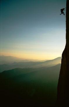 ♂ Peaceful nature Rock Climber by Barry Tessman