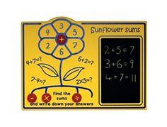 Sunflower Sums Panel