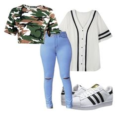 """Untitled #23"" by destinyxx8 on Polyvore featuring adidas Originals"