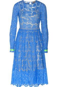 Preen by Thornton Bregazzi Hayden guipure lace dress | NET-A-PORTER