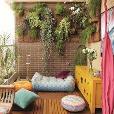 Un balcon comme un petit salon - Marie Claire Maison