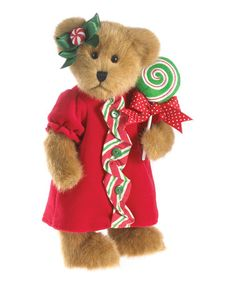 Another great find on #zulily! Holiday Lollipop Plush Bear by Boyds #zulilyfinds