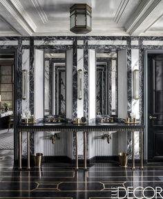 Art Deco Bathroom - ELLEDecor.com