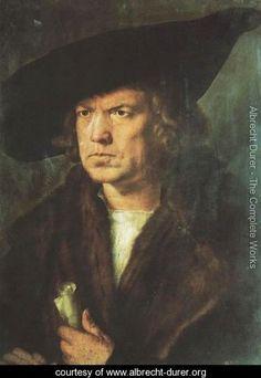 Portrait of a Gentleman - Albrecht Durer - www.albrecht-durer.org