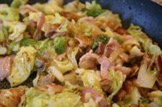 Delicious Bacon & Cabbage Pasta Recipe
