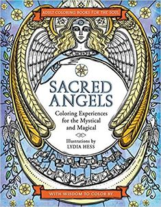Sacred Angels Coloring Books For The Soul Lydia Hess 9780062563651 Amazon