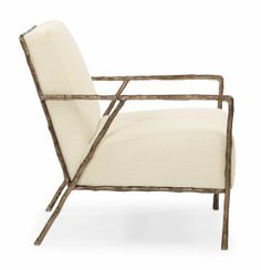 Knockoff of the Christian Liaigre Chair.  Tremont Chair / Bernhardt (Less than $2k)