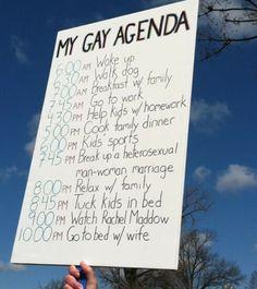 gay marriage agenda
