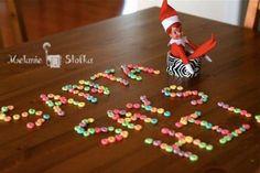 Elf On The Shelf Ideas Notes From Santa