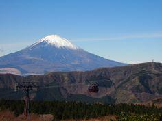 Mt. Fuji from Hakone, Japan