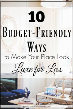 10 budget-friendly w