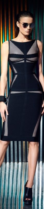 Resort 2014 Herve Leger look#33