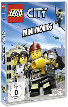 DVD LEGO City - Mini Movies  http://www.meinspielzeug24.de/dvd-lego-city-mini-movies  #Junge #AudioVideo, #DVD