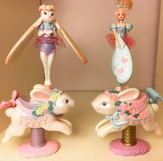 Bunny Sky Dancers #90s #toycollection #toycrewbuddies #toyroom #vintage #pollypocketparadise #skydancers #skydancer