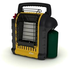 Mr. Heater Portable Buddy Heater is rated out of 5 by Rated 5 out of 5 by Sroberson from Gray item easy to get started I bought it for my Deere blind and love it/5(74).