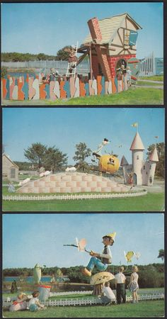 3-Storybook Land-Wisconsin Dells-Vintage Postcard Lot | eBay Storybook Gardens, Retro Signage, Wisconsin Dells, Thanks For The Memories, Roadside Attractions, Ol Days, Good Ol, Amusement Park, Back In The Day