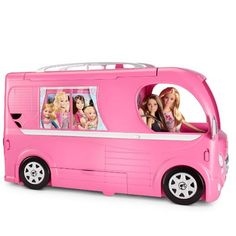 Shop for Barbie dolls and toys and find fab fashions, playsets and fashion dolls. Browse Barbie dolls and toys sparkling with pinktastic fun in the Barbie toys collection including dollhouses, Barbie& Dreamhouse, fashions and doll accessories. Barbie Camper, Camping Barbie, Mattel Barbie, Camper Van, Play Barbie, Popup Camper, Camping Gifts, Camping Car, Outdoor Camping