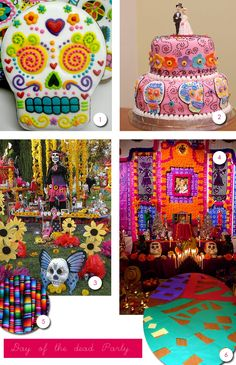 Colorful ways to celebrate Dia de los Muertos!