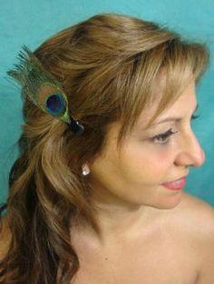 Hair clips! Amazon.com: Peacock Feather Clip: Beauty