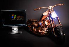 computer copper , PC - Chopper 4 , mini ITX , Vladimír Bunčák