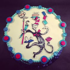 Dr. Seuss- Cat in the Hat Cake