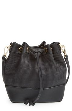 BP. Faux Leather Bucket Bag available at #Nordstrom
