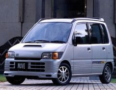 Daihatsu Move SR (L602S) '1995–98 Kei Car, Ac Schnitzer, Daihatsu, City Car, Japanese Cars, Old Cars, Jdm, Toyota, Vehicles