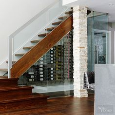 Clever Ways to Add Storage Around Staircases
