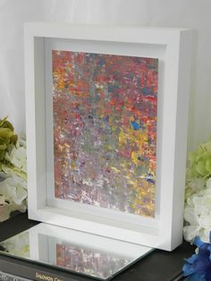 white frame painting - Google Search