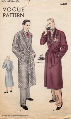 A Few Threads Loose: The Super-Secret Christmas Robe from 1951
