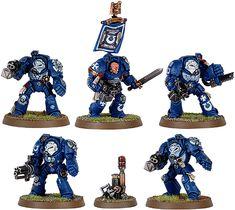 Ultramarine Terminator Squad