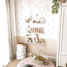 bonus room decorating ideas for kids Baby Bedroom, Baby Room Decor, Girls Bedroom, Ikea Girls Room, Baby Zimmer Ikea, Baby Room Design, Nursery Design, Toddler Rooms, Kid Spaces