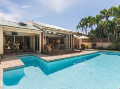 Beautiful estate and guest house and bungalow in Poipu with private pool and fenced in yard. Eating area and BBQ by the pool. Kauai Vacation Rentals, Hawaii Vacation, Kauai Hawaii, Fenced In Yard, Pool Houses, Private Pool, Perfect Place, Bungalow, Beautiful Homes