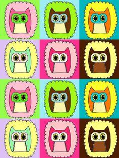 Owls owls owls http://needlings.etsy.com